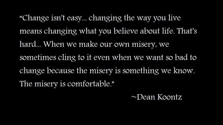 Dean Koontz quote.