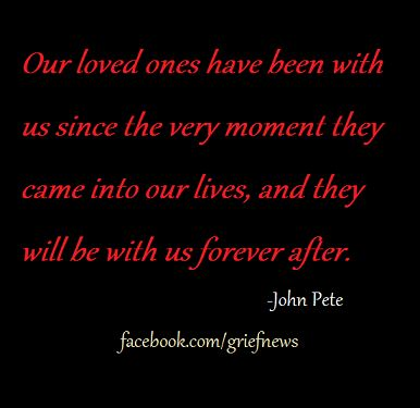 loss, death, grief, grieving, hope, healing, friendship, love, bereavement, eternity, soul mates, new baby, siblings, twins, John Pete