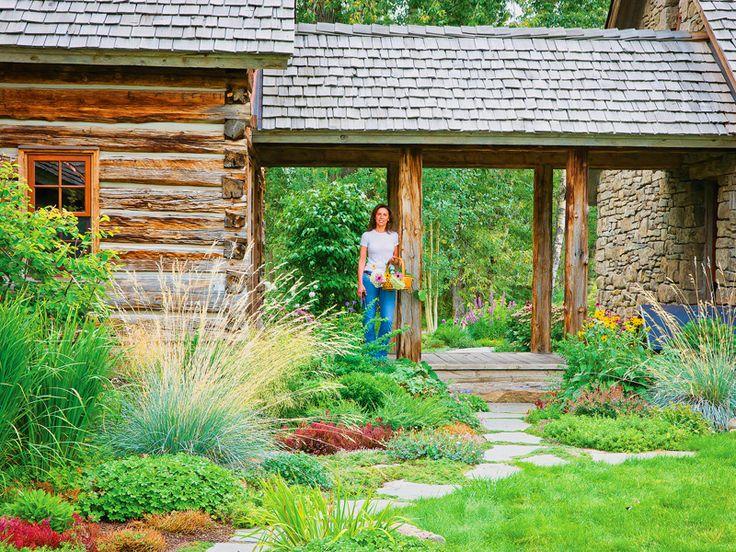 Montana garden mountain garden landscape design native for Mountain landscape design