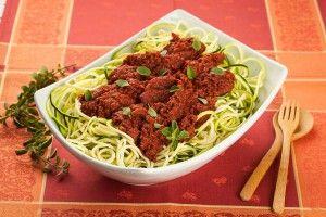 Fully raw pasta