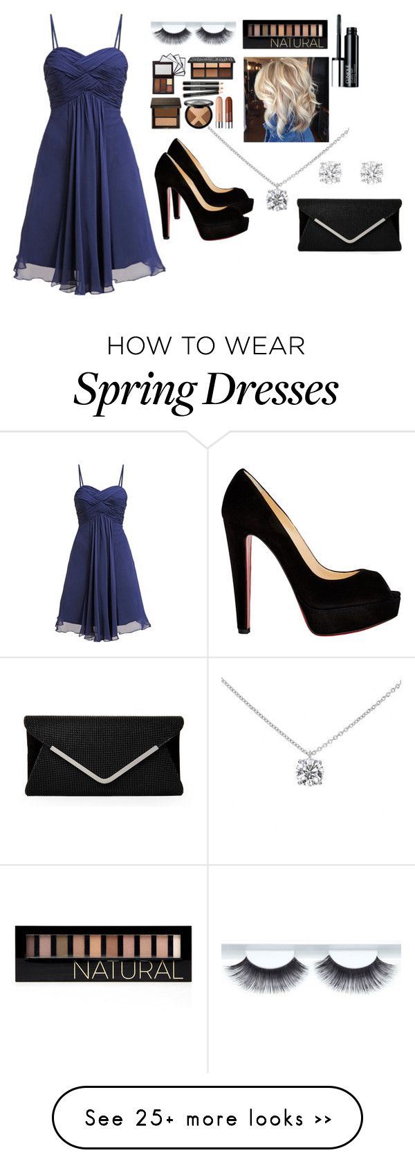 """""""Untitled #127"""" by lucy120120 on Polyvore featuring Tiffany & Co., Forever 21, Clinique, Christian Louboutin and Laona"""
