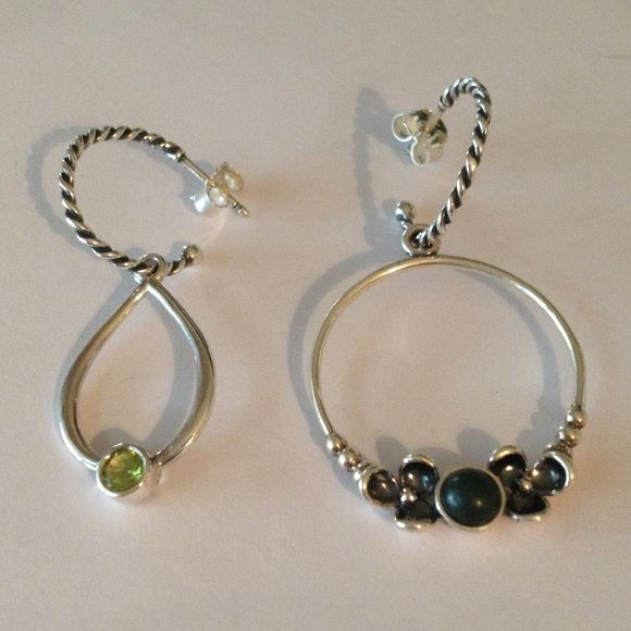 Pandora Mix And Match Earrings