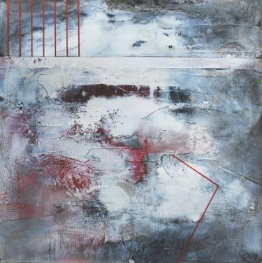 """Saatchi Art Artist Aljona Shapovalova; Painting, """"White words"""" #art"""