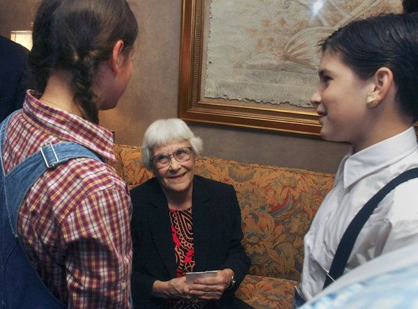 """Harper Lee: """"This isn't the sequel. This is the parent to 'Mockingbird."""" #GoSetAWatchman"""
