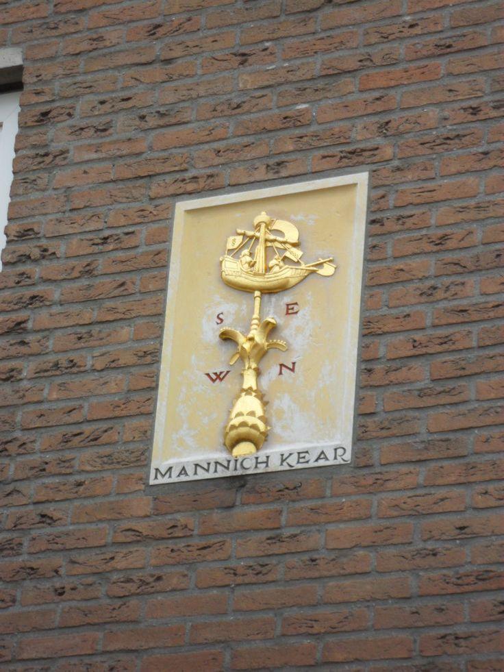 Hoek Schrans, Leeuwarden. Tekst: Mannich Kear
