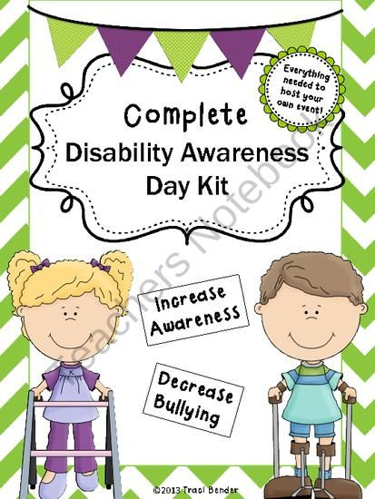Host your own Disability Awareness Day with this kit.