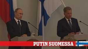Niinistö ja Putin yhteisessä tiedotustilaisuudessa – Transponderit, Ukraina ja Itämeren tilanne nousivat esiin