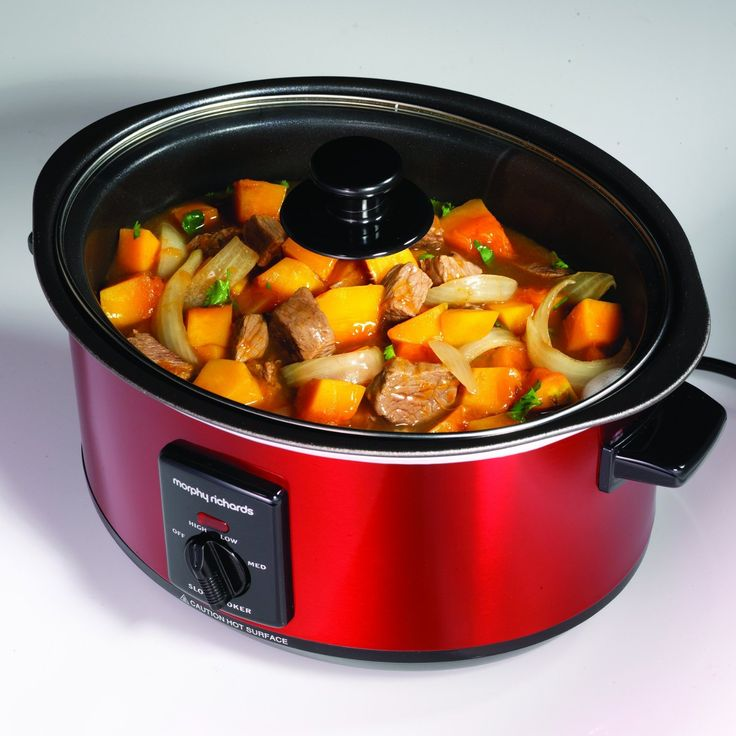 COOL Morphy Richards slow cooker