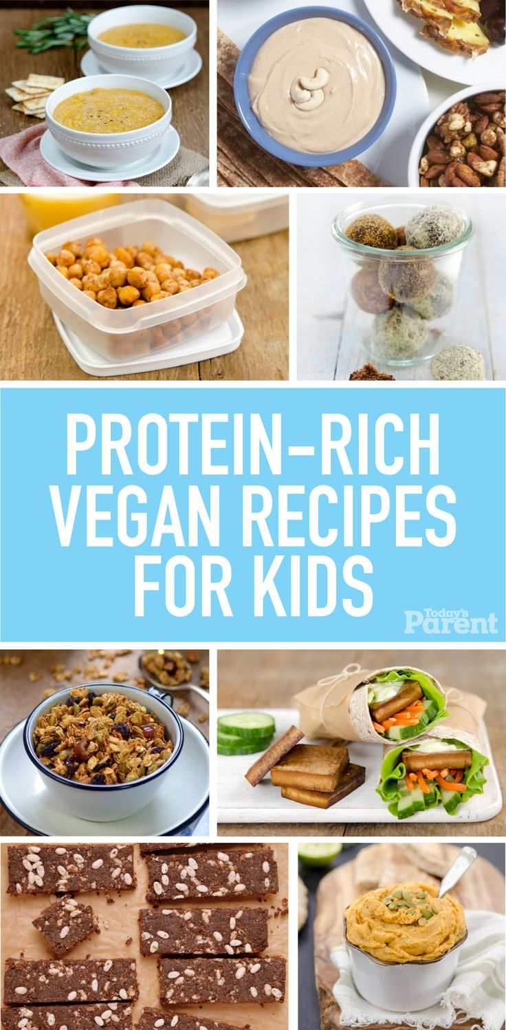 Protein-rich vegetarian recipes kids will love