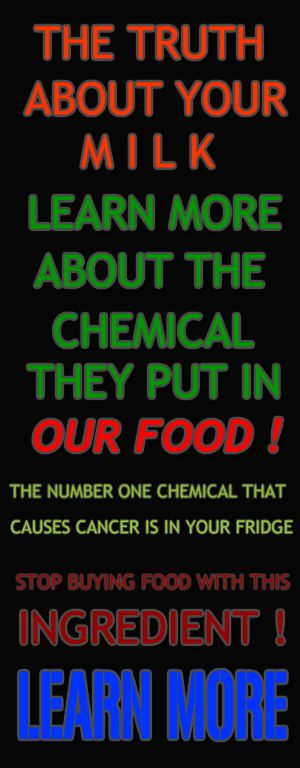The Truth About Your Milk ! Learn More About The Chemical They Put In OUR FOOD ! #MakeThisViral #TheTruth #PosionInOurFood #Cancer