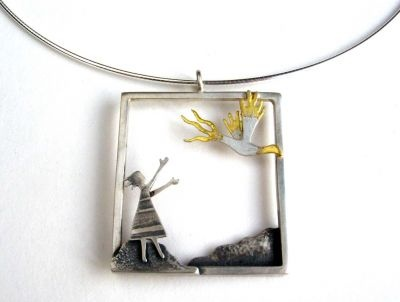 17 best becky crow jewellery images on pinterest crows crows i love this pendant firebird pendant by becky crow aloadofball Images