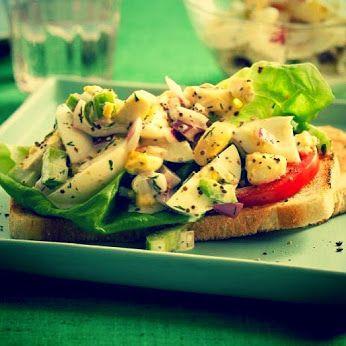 #lunch  #food #sandwich  #warsaw