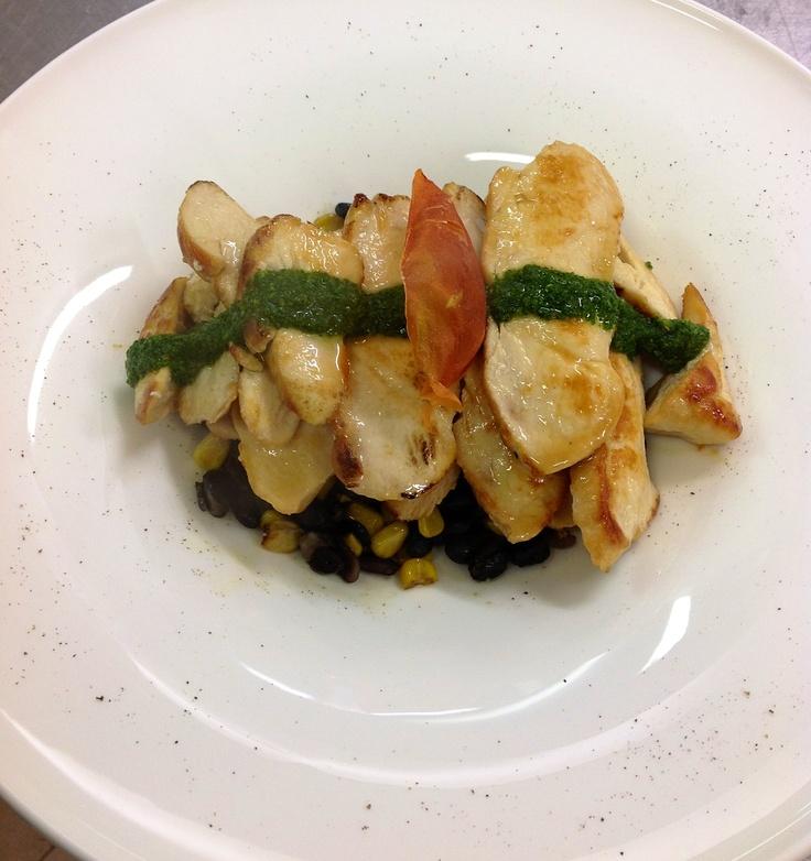 Hotel Franz - Grape restaurant:  chicken breast