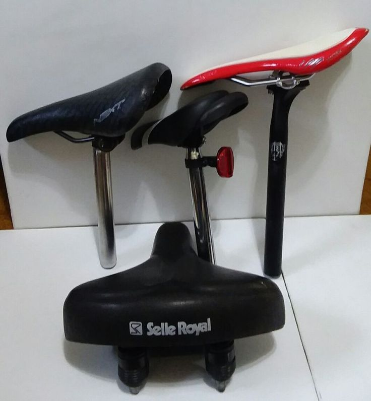 Lot of Bicycle Saddle Seats Used-Velo Miles,Showell,Selle Royal #Velo