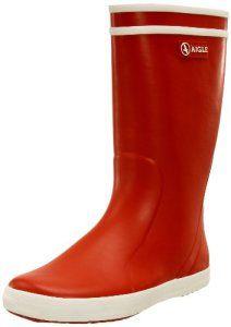 Aigle Lolly Pop, Bottes de Pluie mixte enfant, Rouge (Rouge/Blanc), 30 EU (UK child 11.5 Enfant UK): Tweet Les célèbres bottes de pluie…