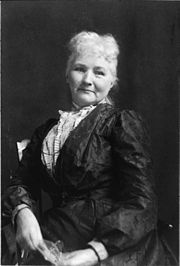 "Mary Harris (""Mother"") Jones - a fearless labor organizer with Indutrial Workers of the World. One of her most famous quotes: ""Pray for the dead, and fight like hell for the living!"""