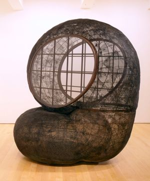 Textures, detail revealed, what would lighting do to this? Martin Puryear Horsefly