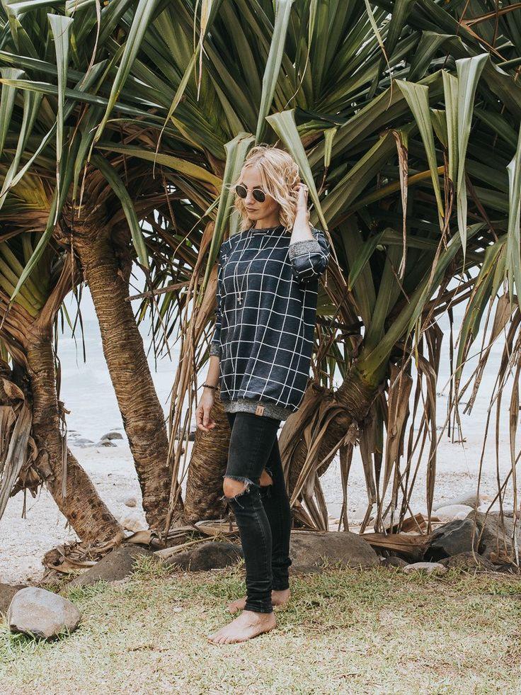 Grid Sweater - Adult Unisex