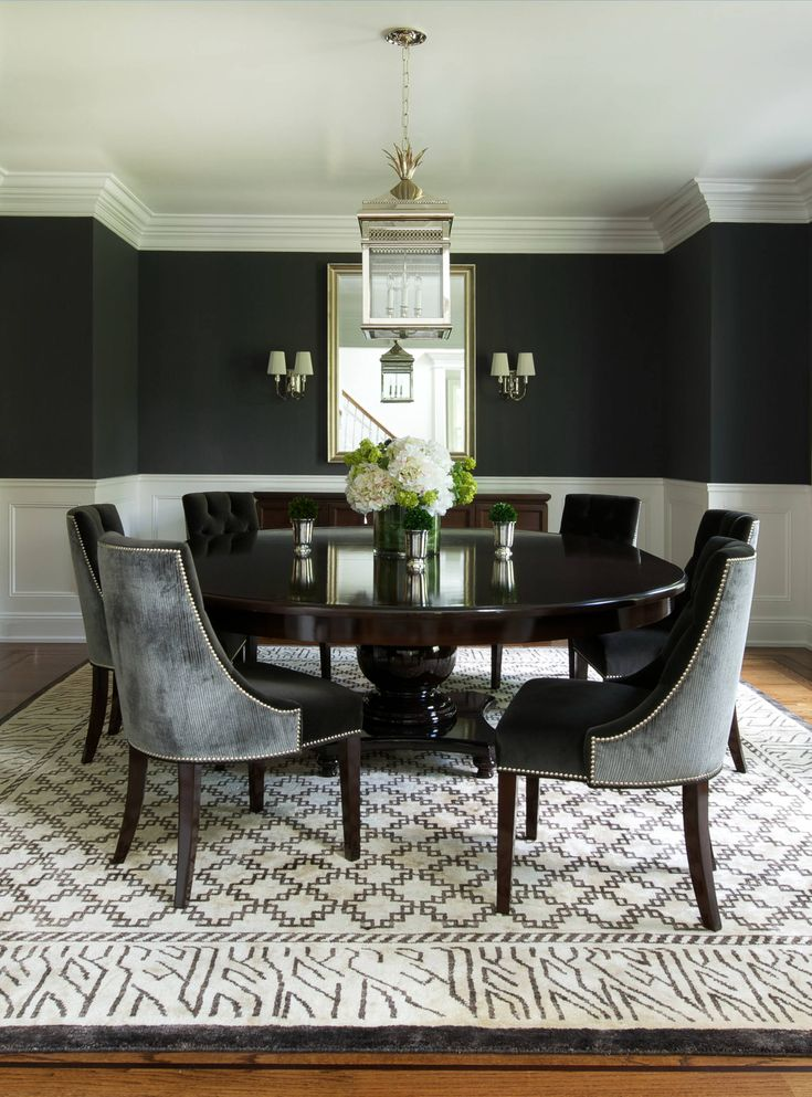 17 best ideas about round dining tables on pinterest round tables white round dining table. Black Bedroom Furniture Sets. Home Design Ideas