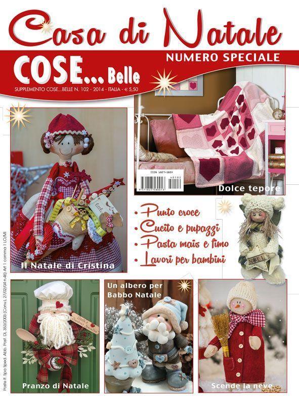 Casa di Natale 2014 [CasaDiNatale_2014] - Cose Belle by Maryline, riviste di ricamo e materiali per la tua creatività