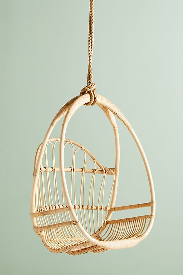 Slide View: 2: Woven Hanging Chair