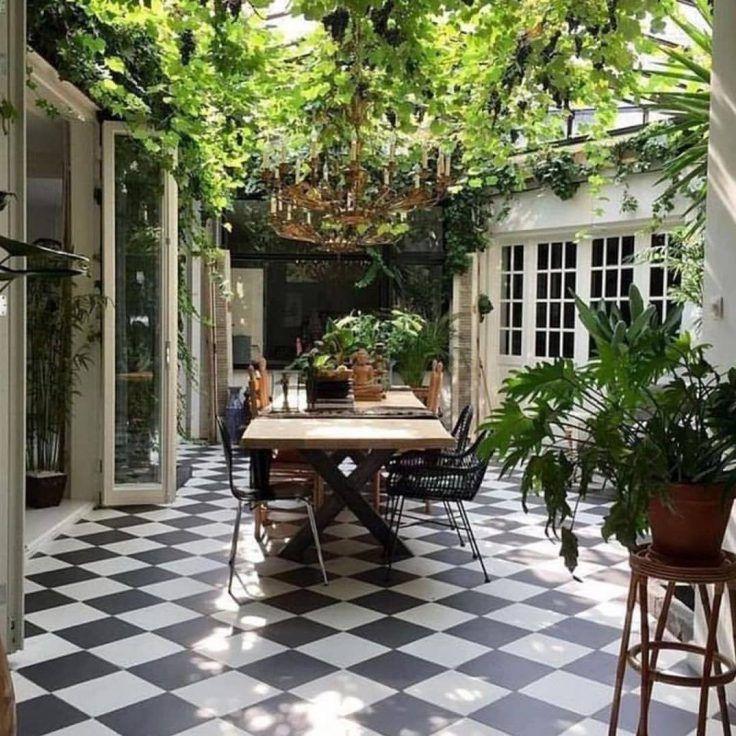 Patio 12 Inspirations Pour Amenager Cet Espace House Design Outdoor Rooms Patio
