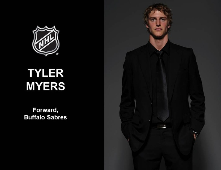 Tyler Myers one of the tallest dudes in hockey!