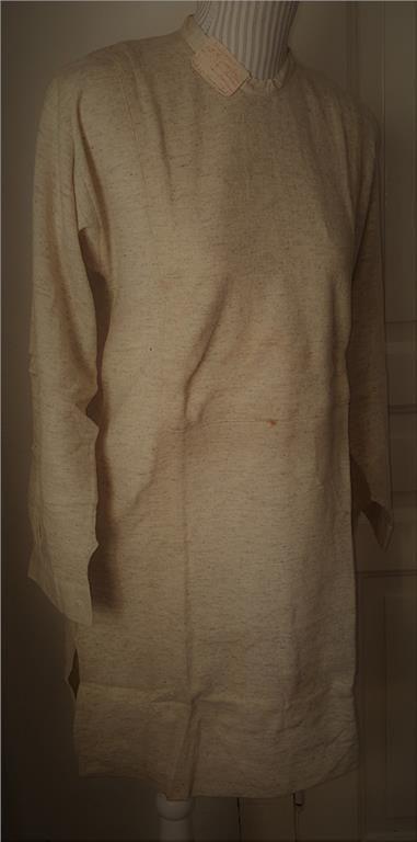 Unik Antik Tidsenlig Herrskjorta st 39 från tidigt 1900. Från lager. Ej använd!