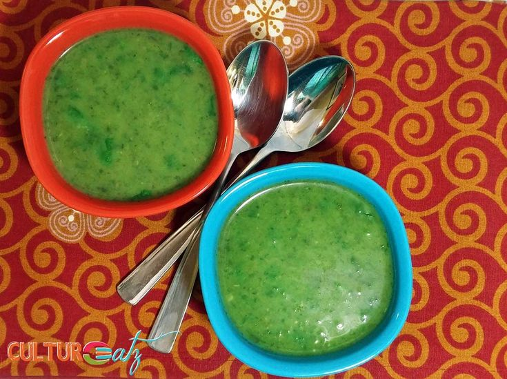Cilantro Parsley Soup Nothing say Saint Patrick's Day like this green Cilantro Parsley Soup. Plus it will let you go threw those bunches of herbs just sitting in your fridge.