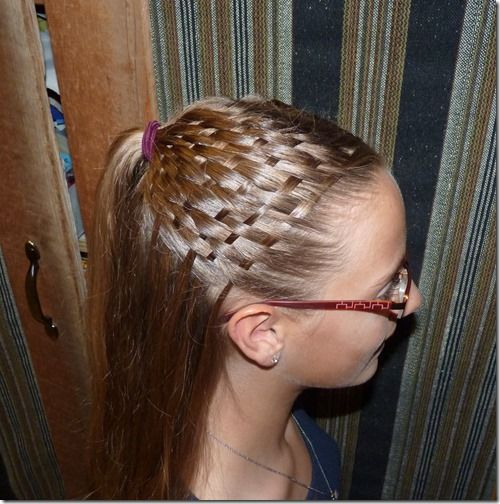 How To Do A Basket Weave Updo : Best ideas about basket weave braids on