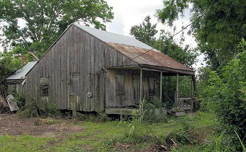 Old Cajun home