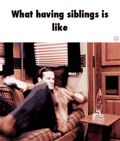 I love how this is from Supernatural and that Sammy's the younger