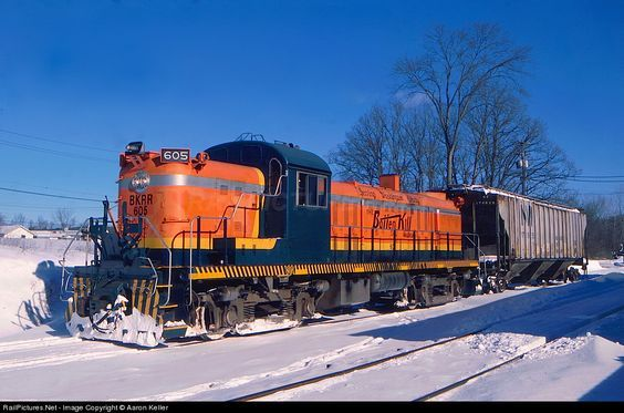 RailPictures.Net Photo: BKRR 605 Batten Kill Railroad Alco RS-3 at Greenwich Junction, New York by Aaron Keller: