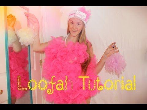 Halloween Costume Tutorial: LOOFAH - YouTube