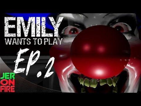 Страшные игры: EmilyWantsToPlay (#2) - ужасные истории - YouTube