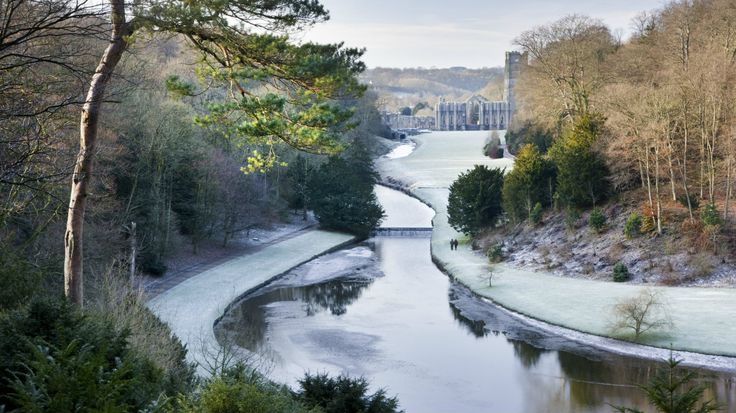A frosty walk is rewarded with incredible views © National Trust Images/Andrew Butler