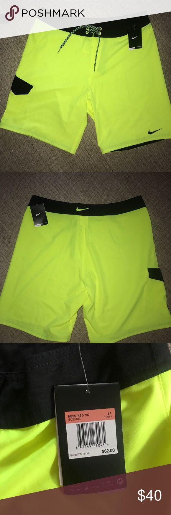 Nike Men's Swimsuit Nike Men's Swimsuit; yellow; (H2) 🌸 Nike Swim