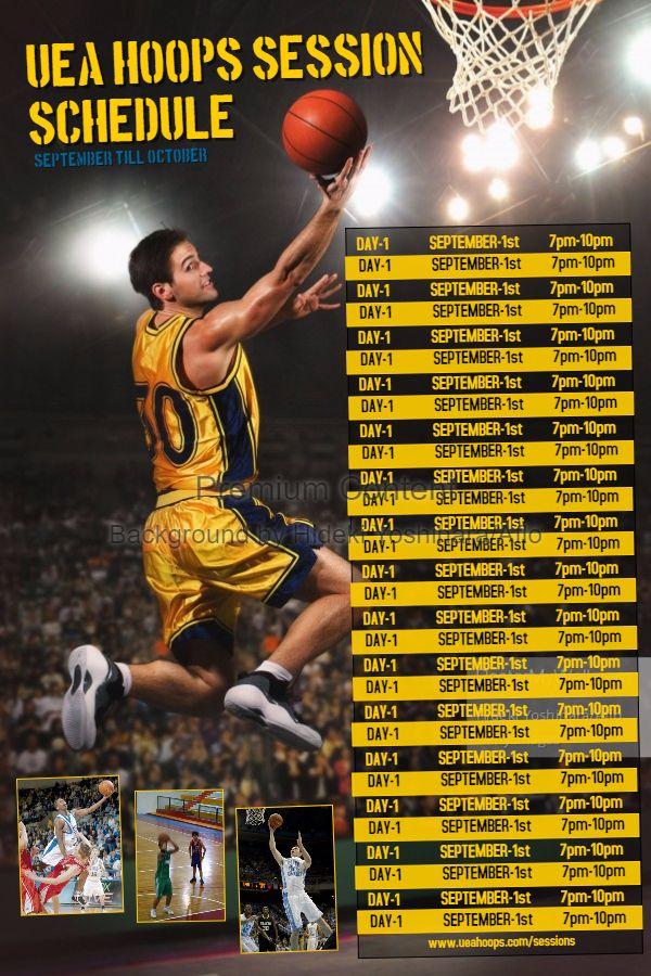 schedule maker sports