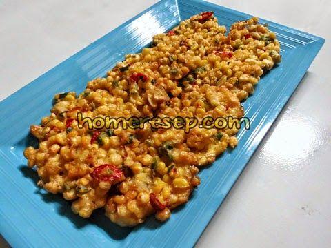 Resep Bakwan Jagung Renyah - Resep Masakan Indonesia Homemade™