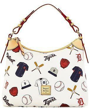 Dooney & Bourke MLB Tigers Hobo Shoulder Bag