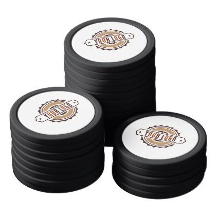Your Business Logo Poker Chips Set - event gifts diy cyo events