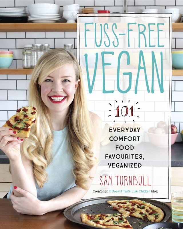 Fuss-Free Vegan is the ultimate guide to easy vegan cooking. Pre-order now for a free bonus gift. This is the cookbook I wish I had when I went vegan. Released October 17, 2017. #itdoesnttastelikechicken