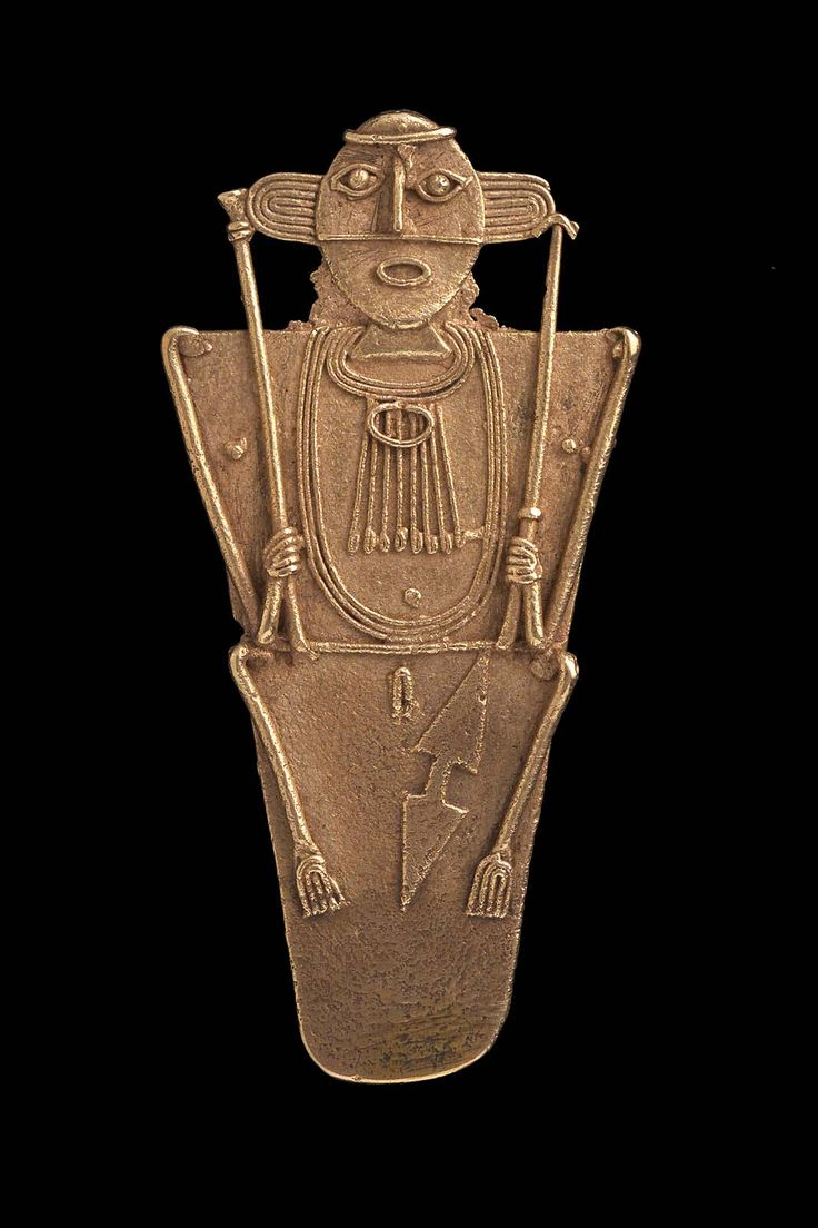 Female effigy cache figure, Muisca, A.D. 1100–1550 - Place of Origin, Departments of Cundinamarca & Boyacá, Colombia | Museum of Fine Arts, Boston