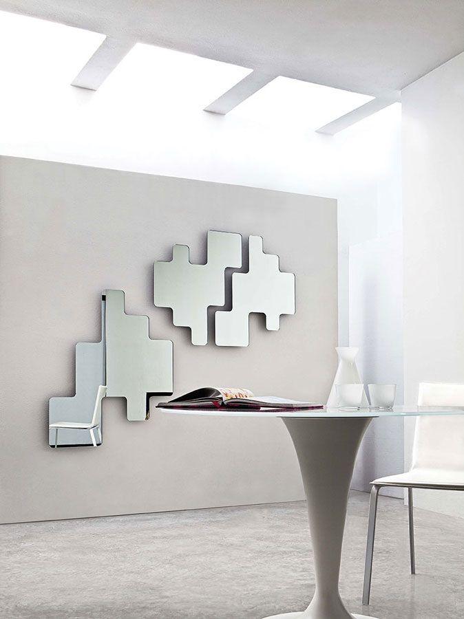 Excellent per tutti gli amanti dei puzzle e delle - Specchi particolari per bagno ...