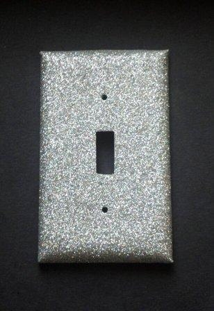 Single Toggle Light Switch Cover Plate Wall Outlet in by WeeMef. , via Etsy.