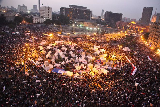 Just WOW. '200,000 Protest Morsi In Egypt's Tahrir Square' | via TPM LiveWire