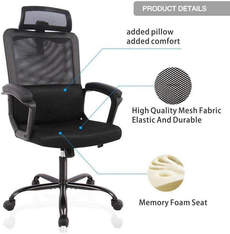 Best Computer Chair For Long Hours Of Sitting 2020 Office Solution Pro In 2020 Best Computer Chairs Computer Chair Best Ergonomic Office Chair
