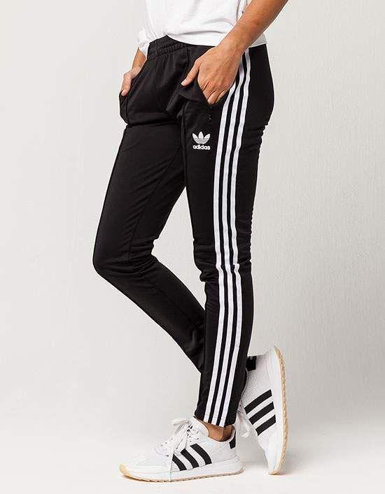 ADIDAS Superstar Womens Track Pants Black  98b5e07e1f