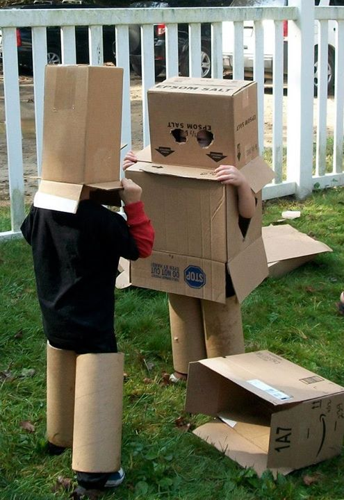 "Robot fun at 'Garden Gate Child Development Center' ("",)"