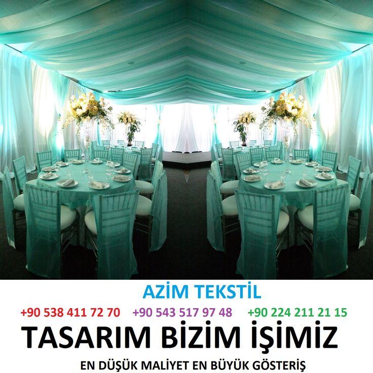 8 Bütün düğün salonları masa örtüsü ve sandalyeleri tekstil kumaş giydirme ve kumaş süsleme dekorasyonu tekstil firmaları İLETİŞİM : +90 532 797 08 20